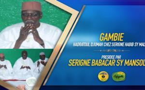 VIDEO - GAMBIE - Hadratoul Djumah chez Serigne Habib Sy Malick - La Causerie de Serigne Babacar Sy Mansour