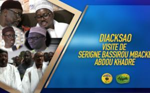 VIDEO - La Visite de Serigne Bassirou Mbacké Abdou Khadre à Diacksao ce Samedi 25 Janvier 2020