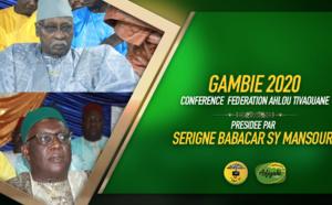 VIDEO - GAMBIE - Suivez la causerie de Serigne Babacar Sy Mansour à la Conférence de la fédération Ahlou Tivaouane de Banjul, de ce samedi 25 janvier 2020