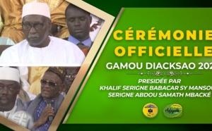 Le film de la Cérémonie Officielle du Gamou Diacksao 2020