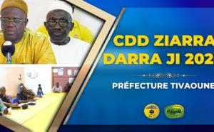 VIDEO - Suivez le CDD de la ZIARRA DARRAJI 2020 présidé par Makane Mbengue Préfet de Tivaouane et de Pape Faye Président Dahira Mountadibina, d'Imam Diop et Imam Niang
