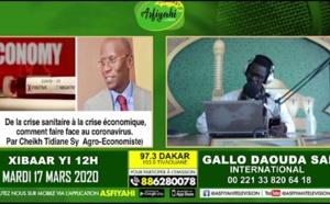 VIDÉO: Coronavirus et Économie - Comment faire face? Invité: Serigne Cheikh Tidiane Sy Al Amine