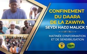 VIDEO REPORTAGE - CORONAVIRUS - Confinement du Daara de la Zawiya El Hadj Malick Sy - Matinée d'information et de sensibilisation