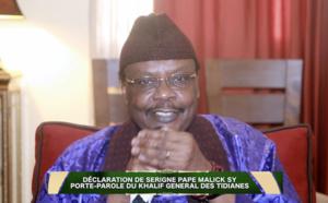URGENT - DÉCLARATION - Serigne Pape Malick SY invite  les Sénégalais au respect de toutes les  recommandations des services sanitaires
