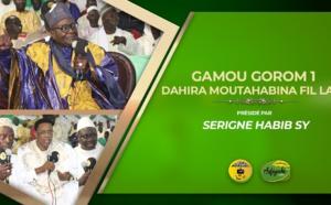 VIDÉO - Gamou Gorom 1 : Suivez le gamou du Dahira Moutahanbina Fillahi présidé par Causerie Serigne Habib SY Mansour et animé par El hadji Doudou Kend Mbaye
