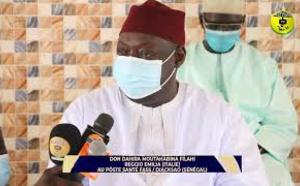 DIAKSAO - Don de la famille de Seydil Hadj Malick SY d'une valeur de 40 millions en matériel médical