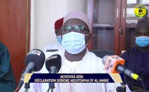 TIVAOUANE - ACHOURA 2020:  DÉCLARATION SERIGNE MOUSTAPHA SY AL AMINE