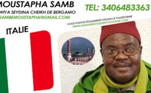 🇮🇹Travaux d'achèvement de la Grande Mosquée de Tivaouane - Le Message du Représentant en Italie, Moustapha SAMB
