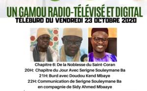 MAWLID 2020 - TÉLÉ BURD DU 23 OCTOBRE 2020 - CHAPITRE 6 - De la Noblesse du Saint Coran