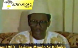 ARCHIVE VIDEO - Mawlid 1983 - Les Recommandations de Serigne Maodo Sy Dabakh pour un Senegal Emergent (1983)