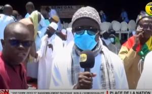 RASSEMBLEMENT NON A L'HOMOSEXUALITE: Reaction de Serigne Pape Makhtar KEBE