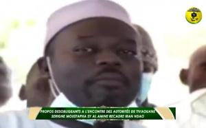 Propos désobligeants à l'encontre des autorités: Serigne Moustapha Sy Al Amine recadre Iran Ndao