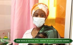 Bébé Mawlid Edition 2021 : né au Centre de Santé Gaspard Kamara