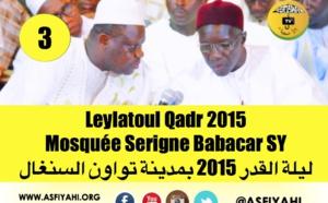 VIDEO - Leylatoul Qadr 2015 à Tivaouane Mosquée Serigne Babacar Sy , clôture de Serigne Cheikh Tidiane Sy Mansour