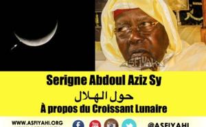 VIDÉO - CONTROVERSE AUTOUR DE L'APPARITION DE LA LUNE: Les Vérités de Serigne Abdoul Aziz Sy Al Amine