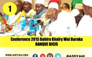 VIDEO - Suivez la Conference de la Dahira Khaïry Wal Baraka de la Banque BICIS, animée par Serigne Abdoul Aziz Sy Al Amine