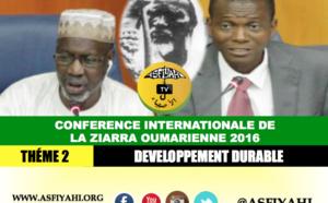 VIDEO - CONFERENCE ZIARRA OUMARIENNE 2016 - THÉME 2 -  Developpement Durable - Par Ousmane Aly Pame et Aboubackry Moussa LAM