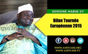 VIDEO - Entretien avec Serigne Habib SY Mansour à Barcelone, Bilan de sa Tournée Européenne 2015 et Message aux  Immigres Sénégalais