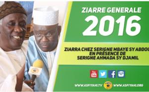 VIDEO - ZIARRE GENERALE 2016 - Ziarra chez Serigne Mbaye Sy Abdou en présence de  Serigne Ahmada Sy Djamil