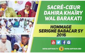 VIDEO - Suivez l'hommage à Serigne Babacar Sy (rta), organisé par le Dahiratoul Khayri wal Barakaty de Sacré-Coeur
