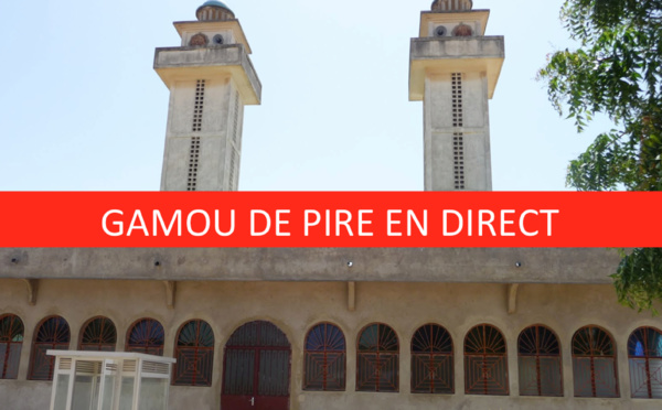 LIVE VIDEO - Suivez EN DIRECT la Ceremonie Officielle du Gamou de Pire