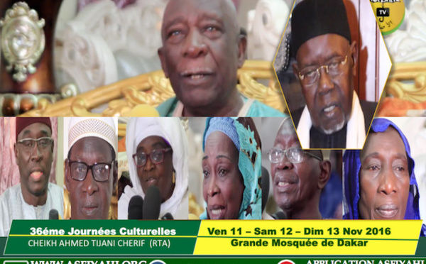 VIDEO - Suivez l'Avant-Première de la Coordination Tidianes de Dakar, en prélude à la 36eme édition des Journées Cheikh Ahmed Tidiane Cherif, les 11, 12 et 13 Novembre 2016