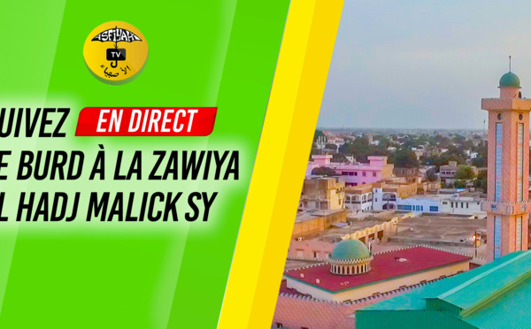 REPLAY - - Différé - BURD EN DIRECT - Tivaouane Zawiya El Hadj Malick Sy (Nuit 3, Vendredi 2 Decembre)