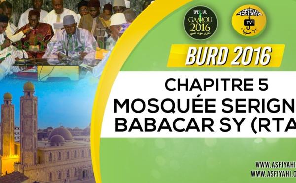 Bourde Gamou Tivaouane 2016 - Mosquée Serigne Babacar Sy - Chapitre 5