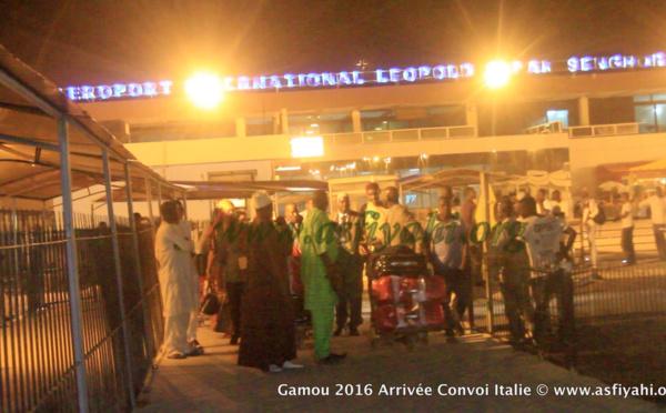 PHOTOS - GAMOU TIVAOUANE 2016 - Les Images de l'arrivée du Vol Spécial Gamou en provenance de l'Italie
