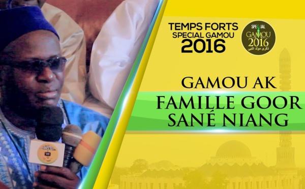 Gamou Ak Famille Mame Gor Sané Niang (Gamou Tivaouane 2016)