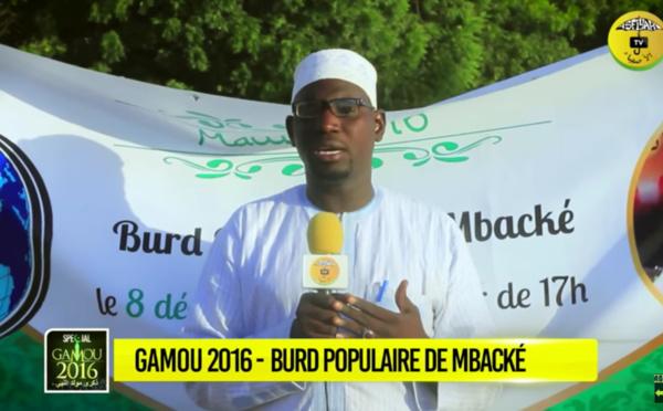 VIDEO - Gamou Tivaouane 2016 - Suivez le Burd Populaire de Mbacké