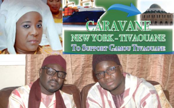 VIDEO - PHOTOS - Réception des Dons de la Caravane New-York/Tivaouane, initiée par Sokhna Oumou Kalsoum Sy Djamil