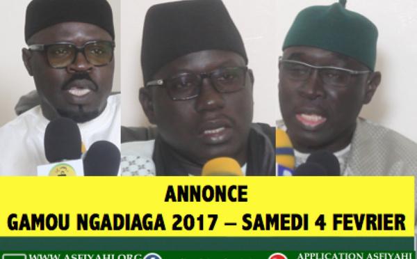 VIDEO - ANNONCE - Suivez l'avant-première du Gamou de Ngadiaga 2017 (Region de Thiès), de ce Samedi 4 Février 2017