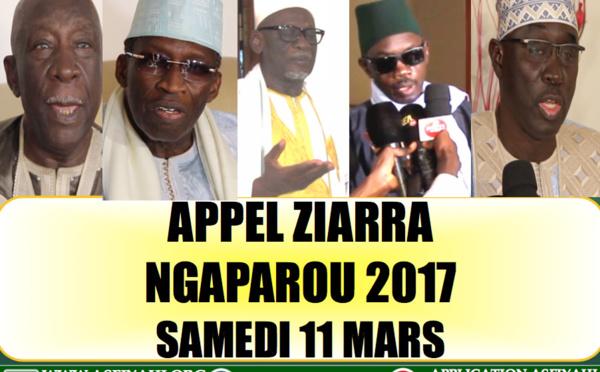 VIDEO - Suivez l'avant-premiere de la Ziarra Annuelle de Ngaparou 2017 dédiée à El Hadj Elimane et  Ibrahima Sakho, Samedi 11 Mars 2017