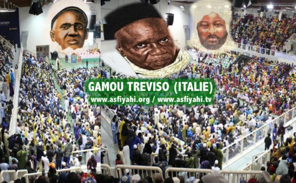 ITALIE- Le Gamou de Treviso 2017 en hommage à Serigne Babacar Sy (rta), célébré le Samedi 15 Avril au Stadium Zoppas Arena