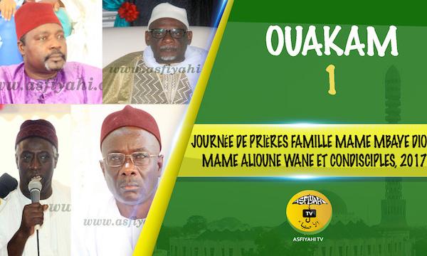 VIDEO - OUAKAM - Suivez la journée de Prières de la Famille de Mame Mbaye Diop de Ouakam, l'un des premiers Moukhadams de Seydil Hadj Malick Sy au Cap Vert, Mame Alioune Wane et condisciples