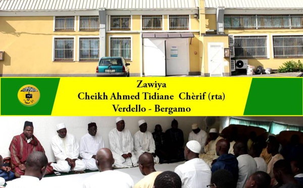 VIDEO - HADARA DIASPORA - ITALIE - Visite Guidée à la Nouvelle Zawiya Cheikh Ahmed tidiane Chérif (rta) de Bergamo