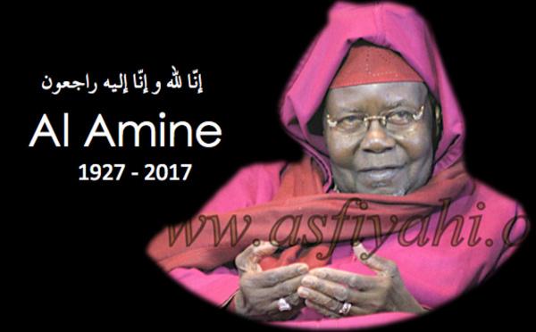 URGENT! Rappel à Dieu de Serigne Abdoul Aziz Sy Al Amine, Khalif Général des Tidianes