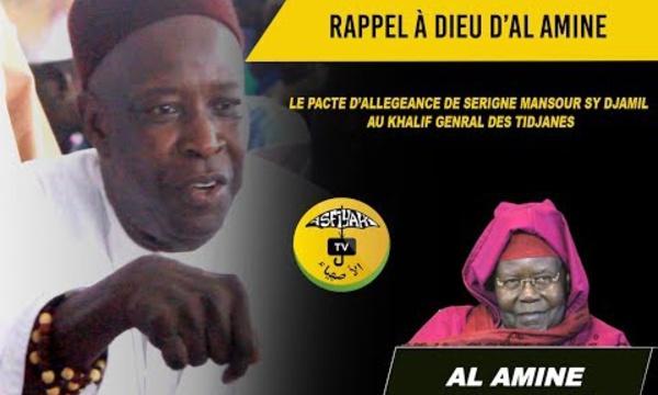VIDEO - Pacte d'allégeance des petits-fils de Seydil Hadj Malick Sy à Serigne Mbaye Sy Mansour