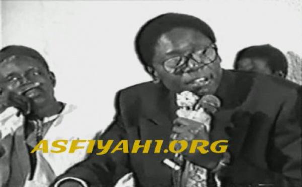 VIDEO: Causerie de Serigne Mansour Sy , fils ainé de Serigne Cheikh Tidiane Sy Al Makhtoum