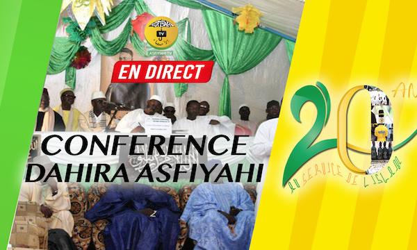 REPLAY - Revivez la Conférence commémorative des 20 ans du Dahira Asfiyahi animée par Serigne Moustapha Sy Abdou