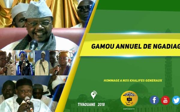 VIDEO - THIES - Suivez la Ceremonie Officielle et le Gamou de Ngadiaga 2018, présidé par Serigne Pape Malick Sy