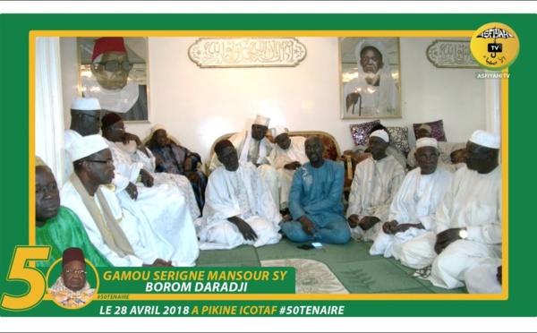 ANNONCE - Suivez l'avant-premiere du Cinquantenaire du Gamou Serigne Mansour Sy Borom Daara Ji de Pikine, Samedi 28 Avril 2018