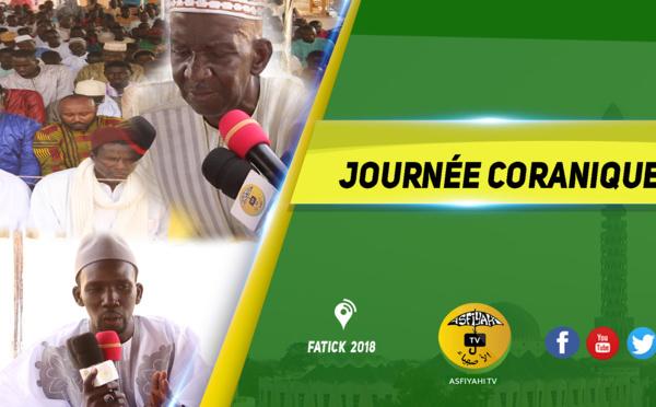 VIDEO - FATICK - Suivez la Journée Coranique de l'Amicale des Disciples et Sympathisants de Serigne Mouhamadou Mbengue au quartier NDIOUK à Fatick