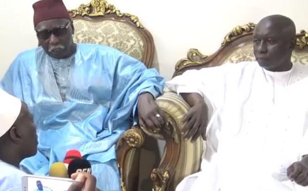 URGENT! Le Khalif General des Tidianes Serigne Mbaye Sy Mansour répond à Idrissa Seck (VIDEO)