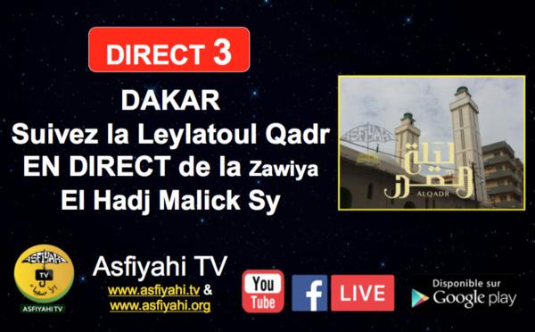 [ REPLAY ] DAKAR - Revivez la Leylatoul Qadr de la Zawiya El Hadj Malick Sy de Dakar