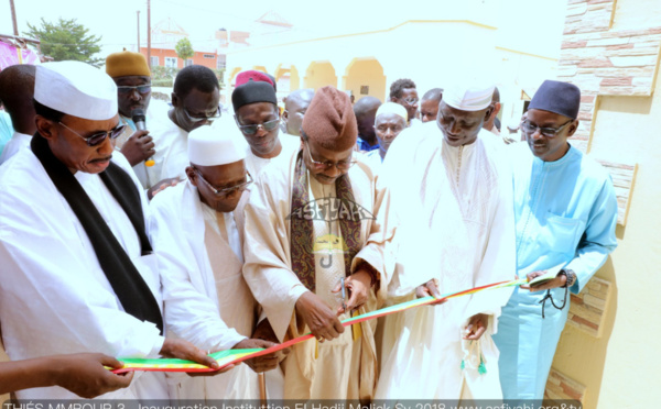 PHOTOS -  THIES - Les images de l'Inauguration de l'institut El Hadj Malick SY de Serigne Khalifa KEBE