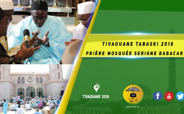 VIDEO - Tivaouane Tabaski 2018 - Intégralité Priére Mosquée Serigne Babacar Sy