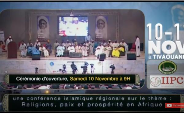 BANDE ANNONCE - Conférence Internationale sur le thème « Religion, Paix et Prospérité en Afrique » les 10 et 11 Novembre 2018