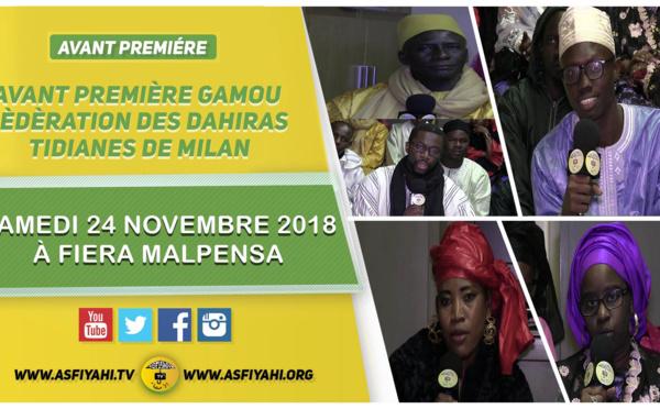 VIDEO - ITALIE - MILAN : Suivez l'appel de la Fédération des Dahiras Tidianes de Milan